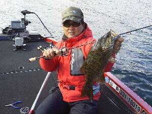 プラで釣ったナイスサイズ