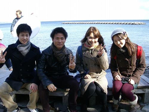 2月4日大阪、北海道