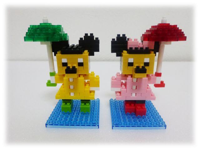 ミッキー&ミニー(傘Ver.)
