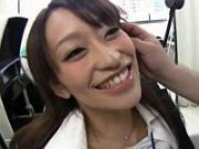教習所の淫乱美人教官を口説いてホテルで3Pファック(fc2動画)