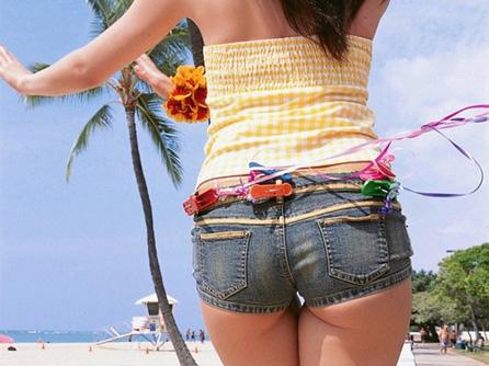 【ショートパンツ】暑くなってきたらプリ尻はみ出すエッチなコレを視姦だ! エロ画像30枚