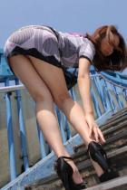 ミニスカ着エロOLお姉さん下着をパンチラひらり挿入エロ画像