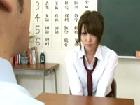 【女子校生】進路に悩む女子校生、担任との進路相談が教室でのSEXに発展!