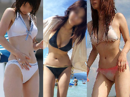 【三次】気持ちだけでも暖かく下半身も暖かく素人ギャルの水着画像まとめ