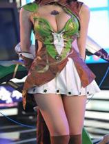 中国で話題の爆乳キャンギャル・叶梓萱(22)の画像