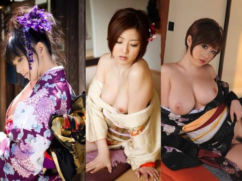【着物のエロス】日本男児なら誰もが反応する晴れ着の艶っぽさ!♪ エロ画像30枚