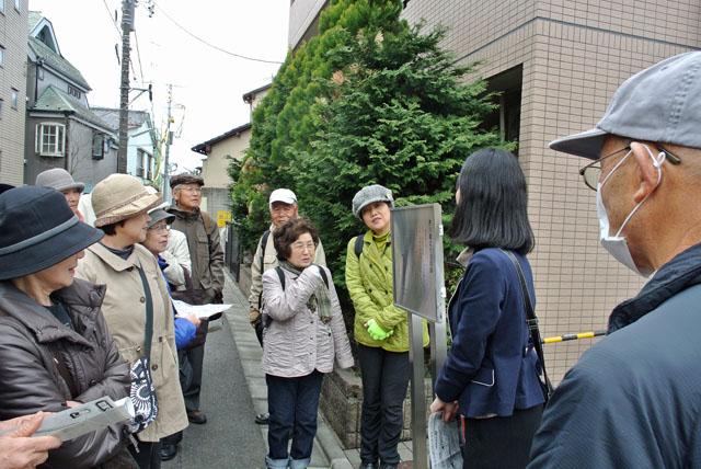 2)芥川龍之介邸跡