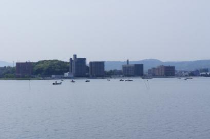 宍道湖では朝からしじみづくし