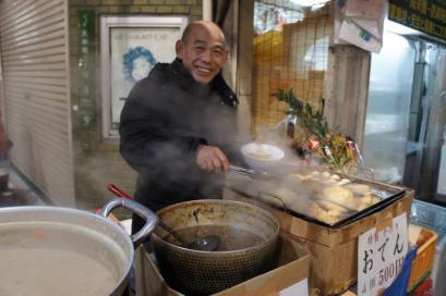 前田豆腐の前田さん。いい人です。