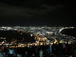 世界三大夜景 函館山からの夜景