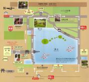 水前寺成趣園マップ