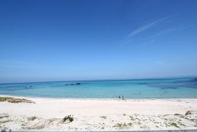 角島の海岸