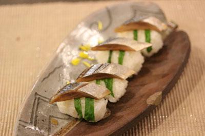 さんまのお寿司2