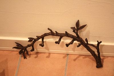 木の枝フック
