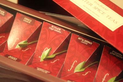 クリスマスバージョン ティーフォルテのお茶