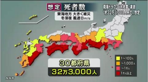 南海地震被害