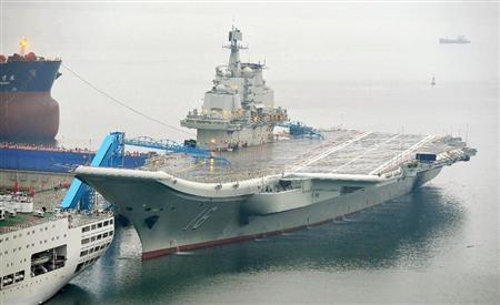 中国の空母「ワリャーグ」2
