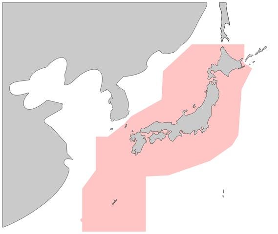 日本の防空識別圏2