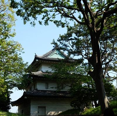 400本丸富士見櫓三重櫓