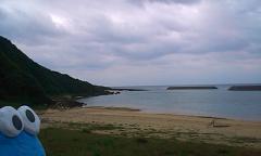 久々におだやかな海