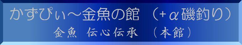【かずぴぃ~金魚の館 (+α 磯釣り)本館ブログへ!!