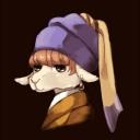 ターバンの羊