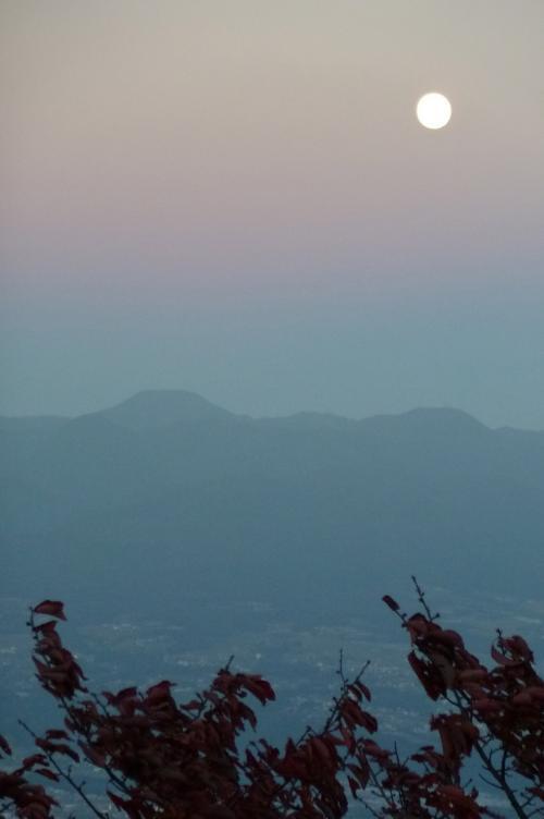 榛名の夕日