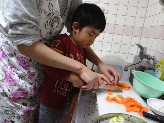 野菜炒めクッキング1