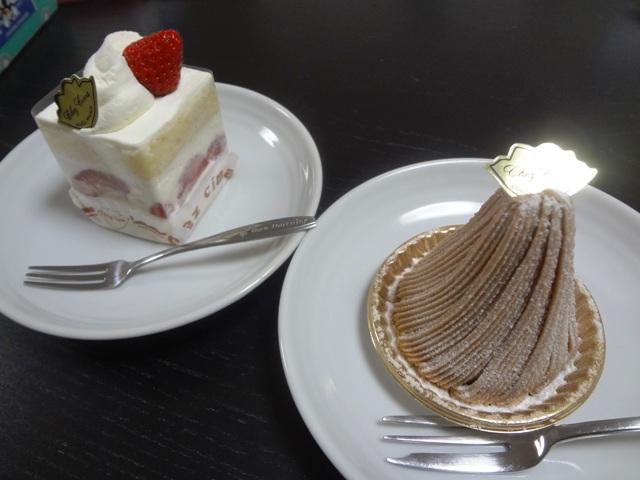 ケーキ屋さんのケーキ