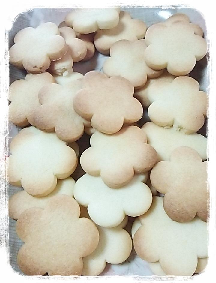 花形クッキー