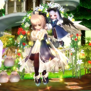 双天使のローブ&肩乗せカンナ