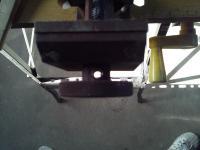 バイスのハンドルに穴