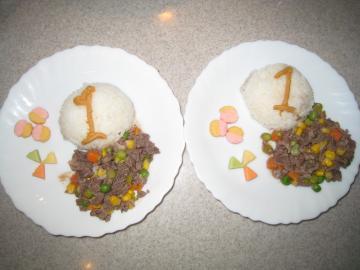 3_23_リリィ誕生日ディナー1