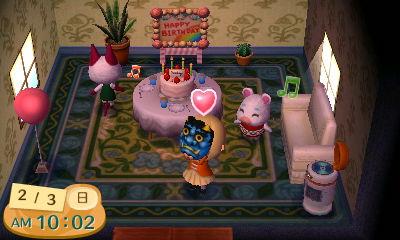 2月3日はゆきみちゃんの誕生日。