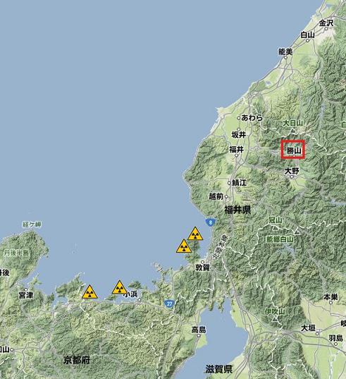 原子力施設Pu239+240地図