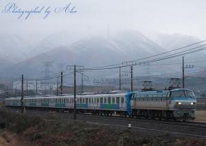 8862レ(=EF66-110牽引+西武30000系)