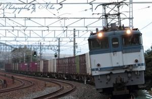 5087レ(=EF65-2094牽引)