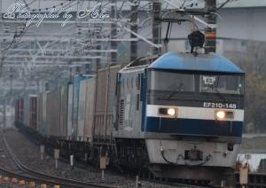 5072レ(=EF210-148牽引)