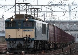 2074レ(=EF64-1014牽引)