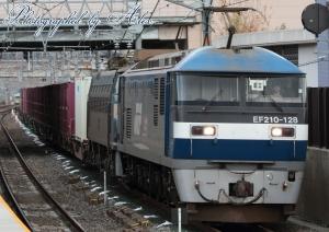 5085レ(=EF210-128(牽引)+EF66-33(ムド))