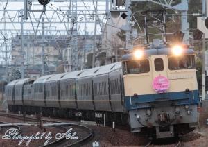 9028レ(=EF65-1133+トワイライトエクスプレス(10両))