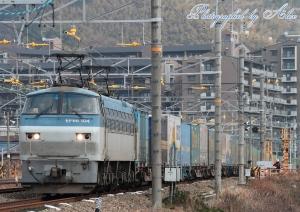 1055レ(=EF66-104牽引)