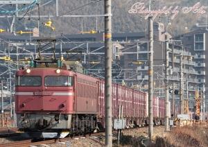 3092レ(=EF81-729牽引)