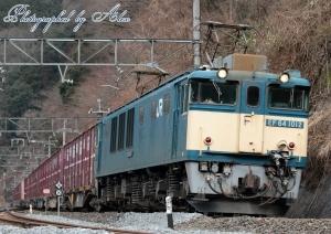 3084レ(=EF64-1012牽引)