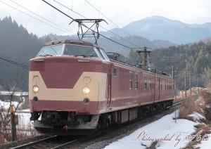 試9866M(クモヤ443検測)