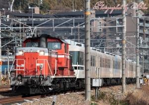 回9955レ(=DD51-1192+あすか(7両フル編成))