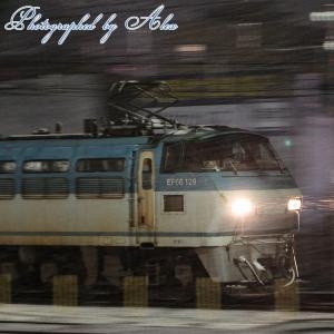 5076レ(=EF66-129牽引)