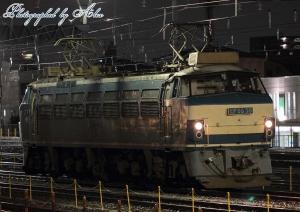 出発準備中のEF66-30