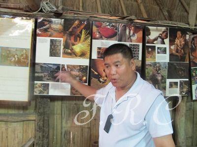 メオ族の村