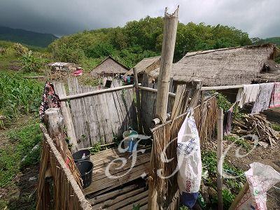 首長族の村in chiang rai(チェンライ)